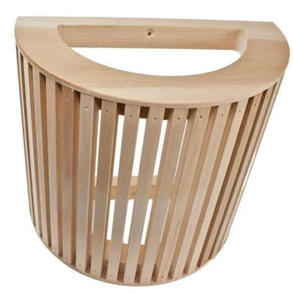 Sauna Wandlampenschirm aus Pappelholz