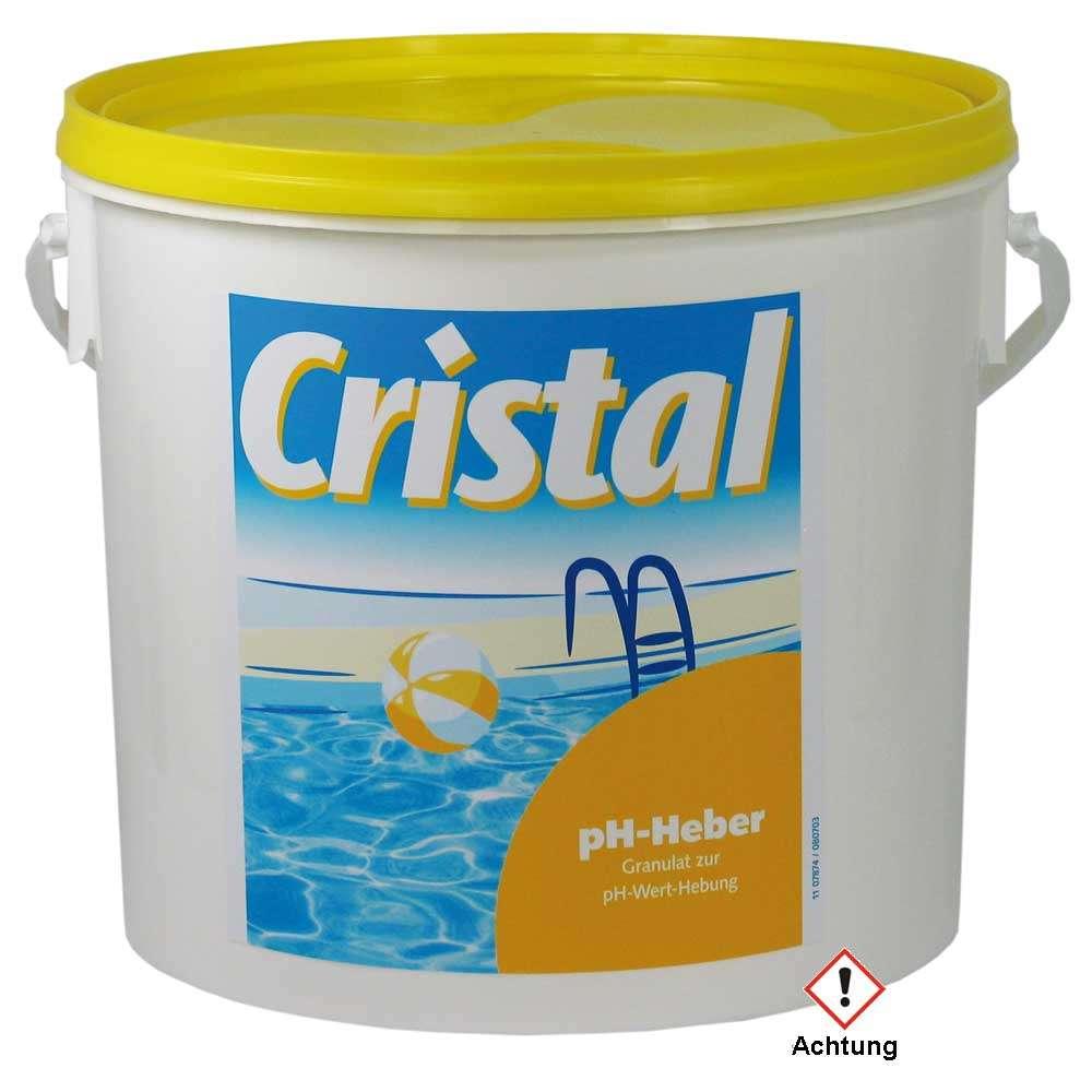 Großartig Cristal PH Heber 5 kg bestellen www.pool-bedarf.de XO35
