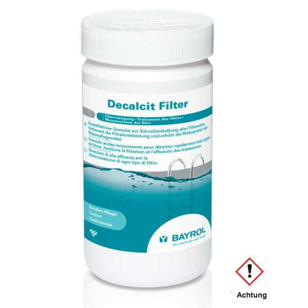Bayrol Decalcit Filter Schnellentkalker