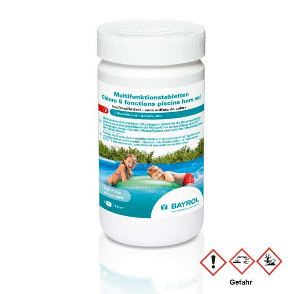 Bayrol Multifunktions Chlortabletten für Quick Up Pools und Kinderbadebecken
