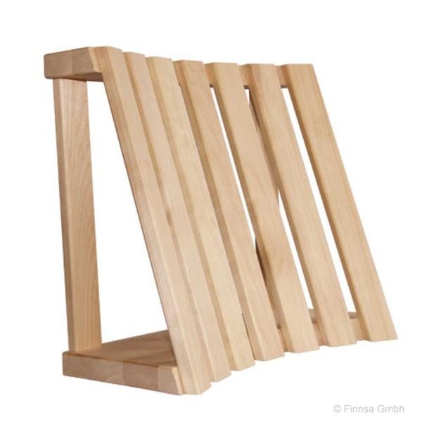 Sauna Rücken und Kopfstütze aus Espenholz