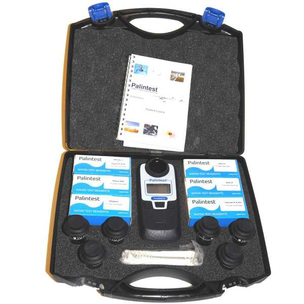 "Photometer-Kit ""Pooltest 6"", 0 - 10 ppm, Hartschalenkoffer"