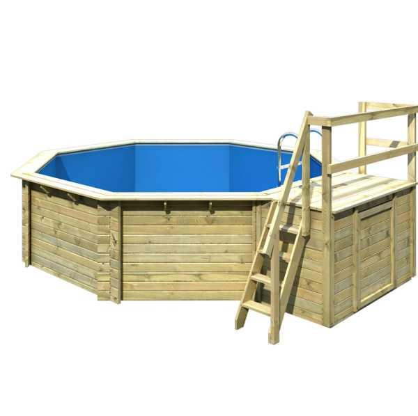 Karibu Gartenpool Modell 2 Ausführung B