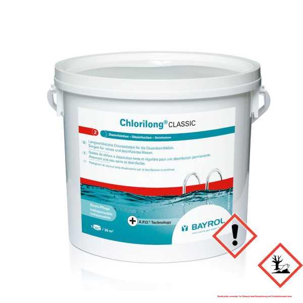 Bayrol Chlorilong Classic 5 kg mit Clorodor Control®-Kapsel