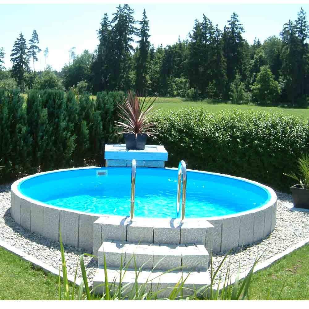 Kinderbecken stahlwandbecken schwimmbecken for Pool rundbecken