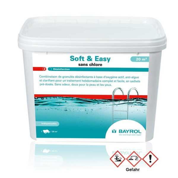 Bayrol Soft & Easy Poolpflege Aktivsauerstoff