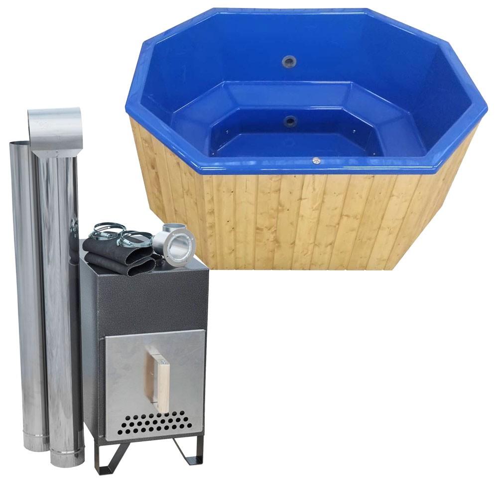 badezuber mit einsatz aus sanit racryl achteckig 2 4 x 1 8 m versandkostenfrei ab von. Black Bedroom Furniture Sets. Home Design Ideas