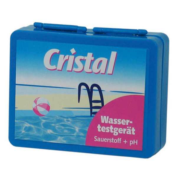 Cristal Wassertester Aktivsauerstoff