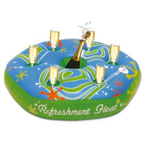 Poolbar schwimmend mit Glashalter