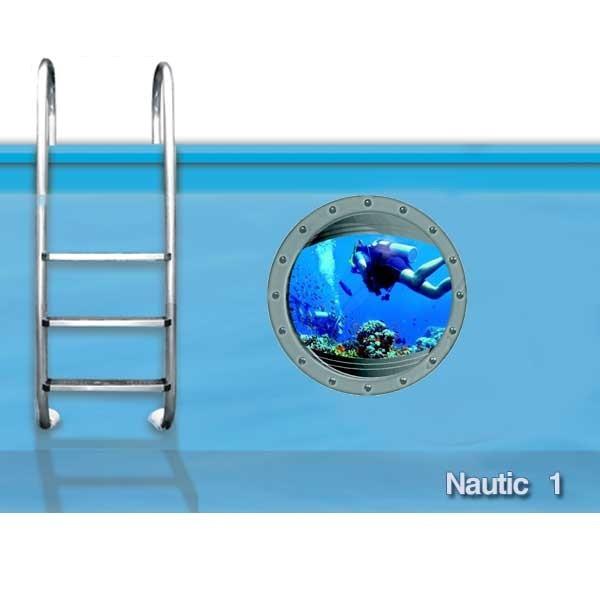 Poolaufkleber Serie Nautic  Motiv 1