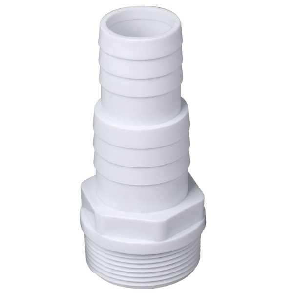 Druckschlauchtülle  Außengewinde auf Schlauchanschluss 38 / 32 mm