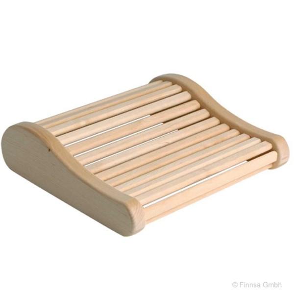 Sauna Funktions kopfstütze aus Espenholz