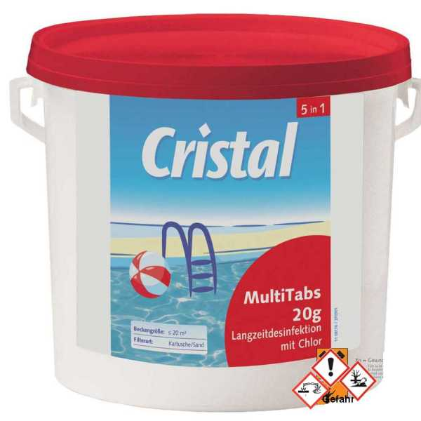 Cristal Multitabs 5 in 1