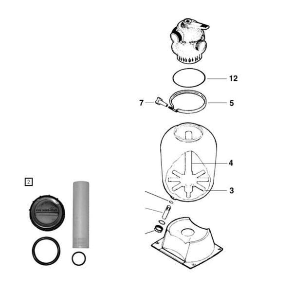 Ersatzteile Pantera Filterkessel