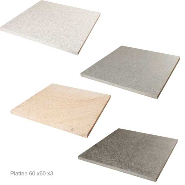 Granit Platten Serie Natura
