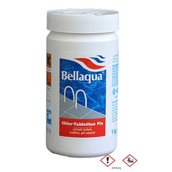 Chlor Tabletten Fix  Bellaqua Poolpflege leicht gemacht