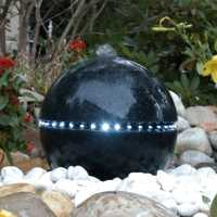 Ubbink Terrazzo Kugel Dubai  mit LED Beleuchtung