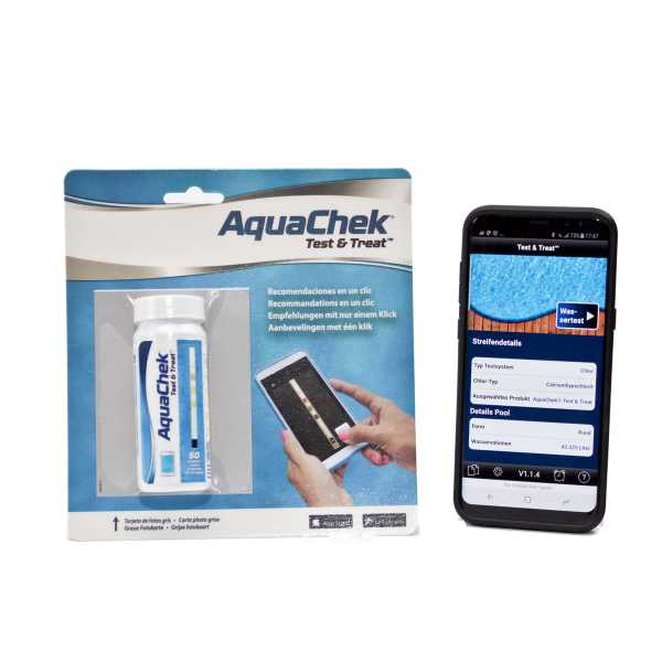 AquaChek Test & Treat Wasserkontrolle per App