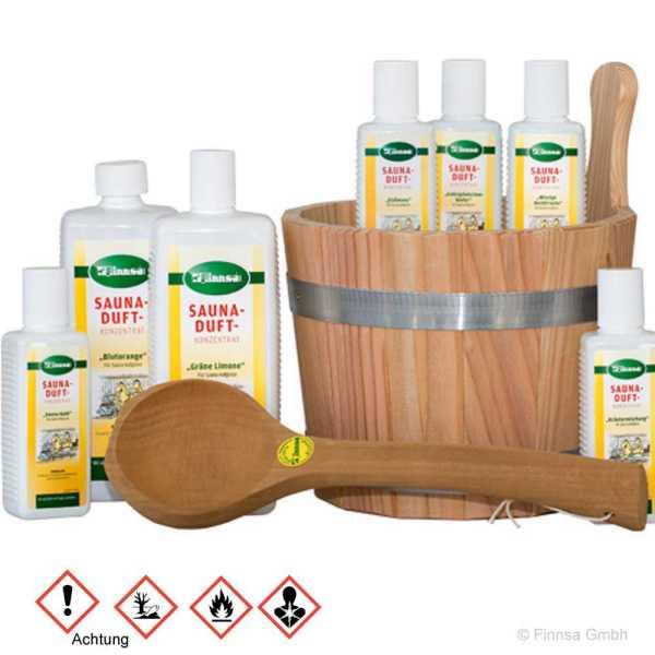 Finnsa Saunadufkonzentrate 24 verschiedene Duftrichtungen für Ihre Sauna