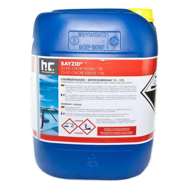 Bayzid Chlor flüssig 25 kg