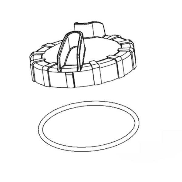 Vorfilterdeckel mit O- Ring für Poolpumpe Hydro S