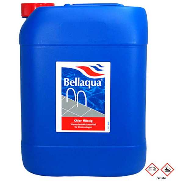 Bellaqua Flüssigchlor Chlorbleichlauge 25 kg