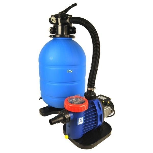 Sandfilteranlage Pro Aqua 400  6 Wege Ventil