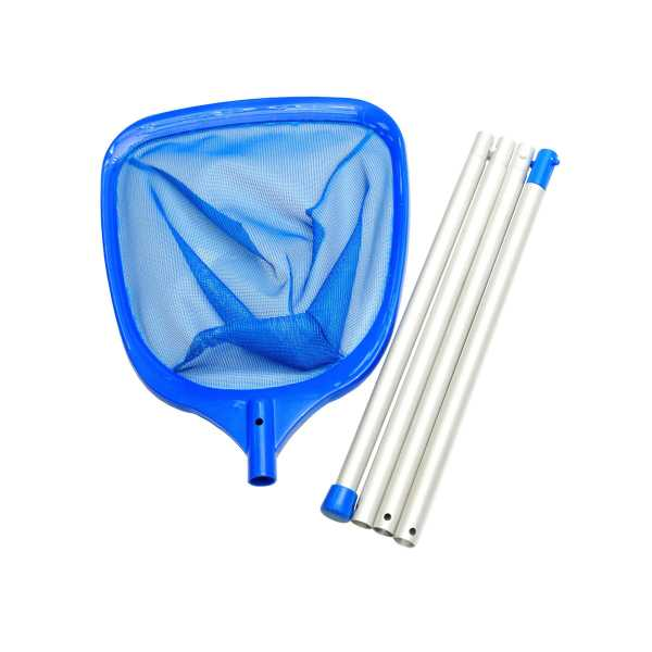 Smart Handkescher blau mit 4 teiliger Alustange