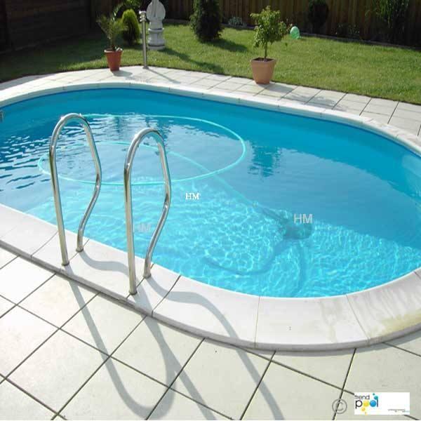 Ovalbecken stahlwandbecken schwimmbecken schwimmbad for Stahlwandbecken pool
