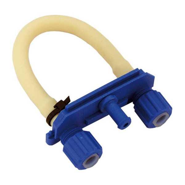 Pumpenschlauchgarnitur inkl. Schlauchhalter blau