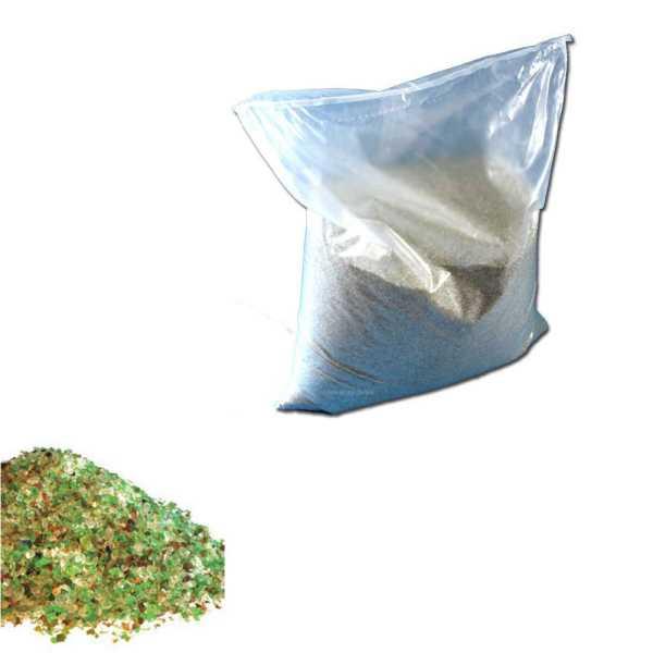 Filterglas für Sandfilteranlagen 25 kg 0,5- 1,0 mm