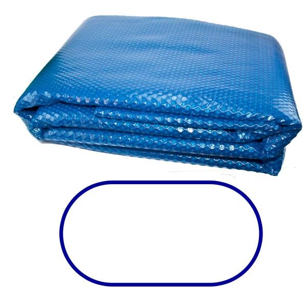 Premium Solarabdeckung Ovalbecken 8,00 x 4,00 Stärke 400 my