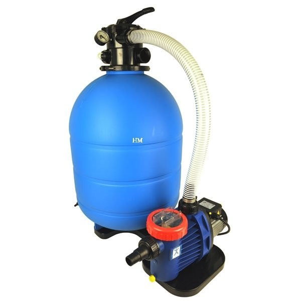 Sandfilteranlage Pro Aqua 500 6 wege ventil
