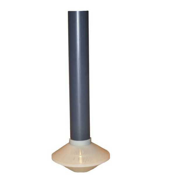 Standrohr mit Filterdüse für Top Mount Filterkessel 400 mm