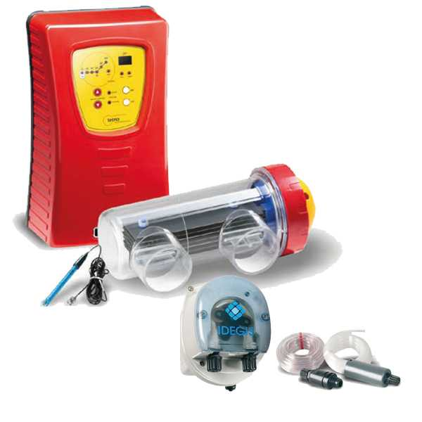 Salzelektrolyseanlage TECNO-PH inkl. Dosierpumpe