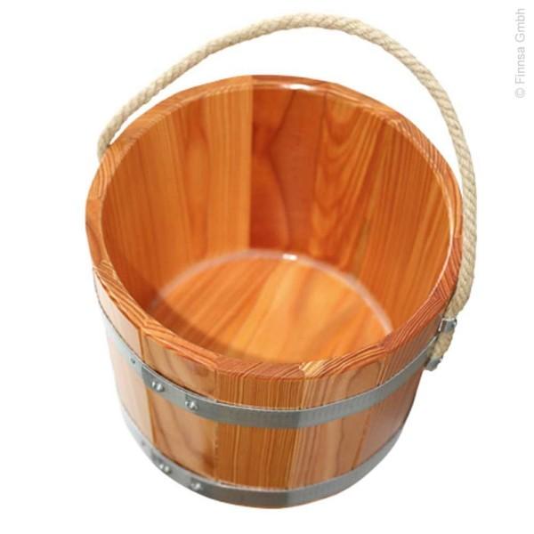 Sauna Kübel 5 liter mit Tragseil