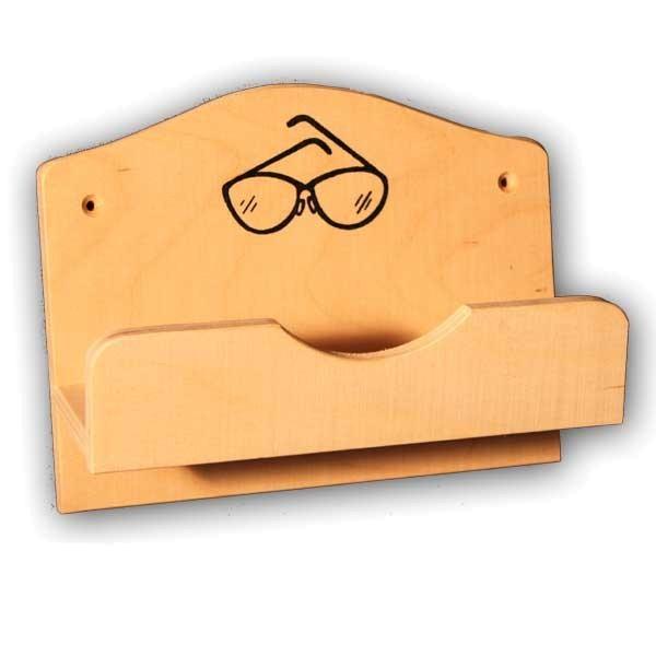 Sauna Brillenhalter für eine Brille