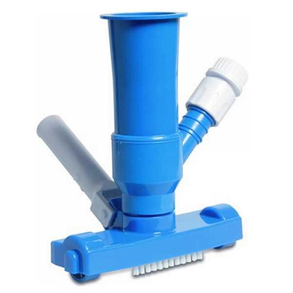 MegaPool Unterwasserdrucksauger mit Bürste