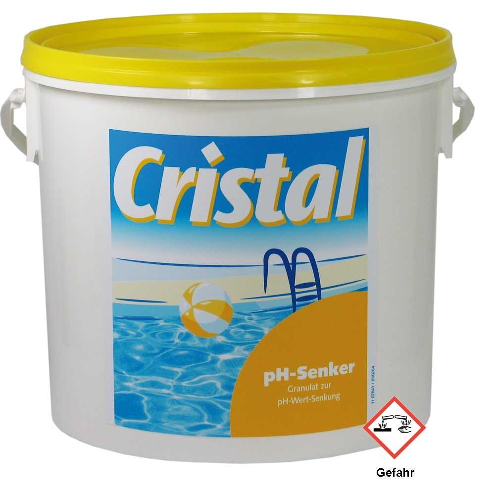 cristal ph wert senker 6 kg g nstig pool. Black Bedroom Furniture Sets. Home Design Ideas