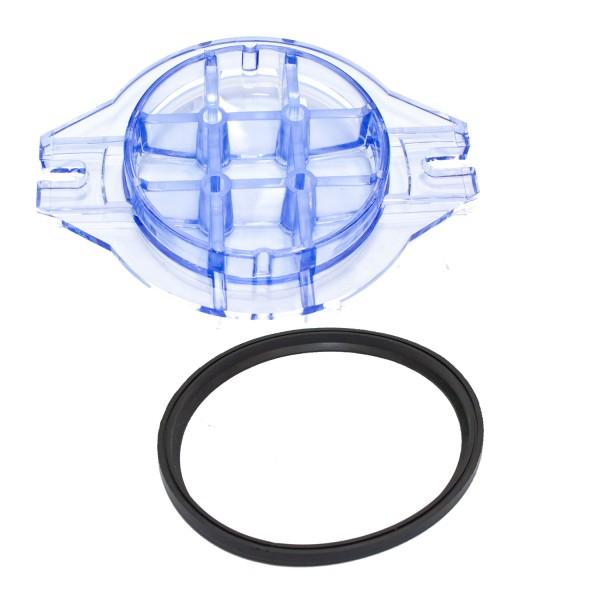 Dichtung und Vorfilterdeckel für Hydronaut Mini 33-100 Poolpumpe