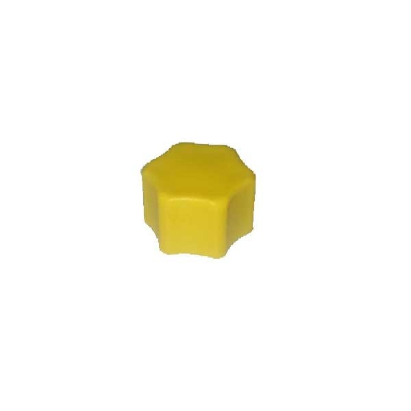 Verschlusskappe gelb G 3/8 mit Flachdichtung f. Picco / Magic / Eco Touch