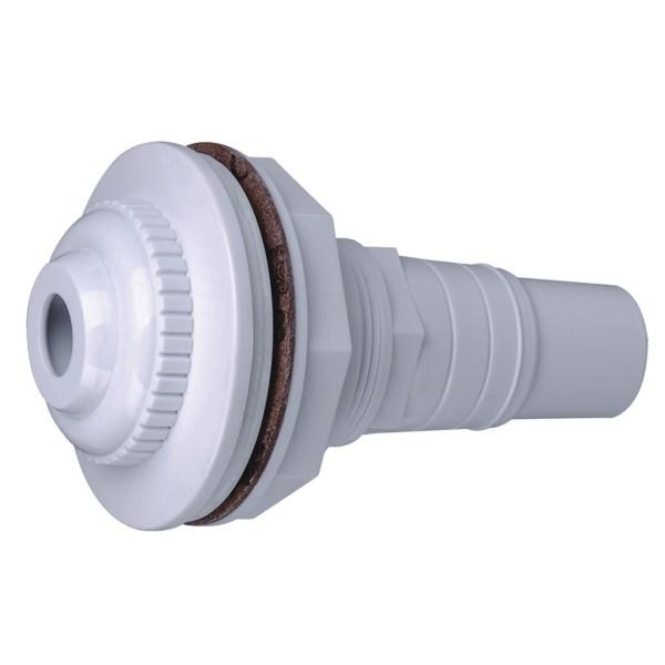 Einlaufdüse für Stahlwandbecken Anschluß 32/38 mm