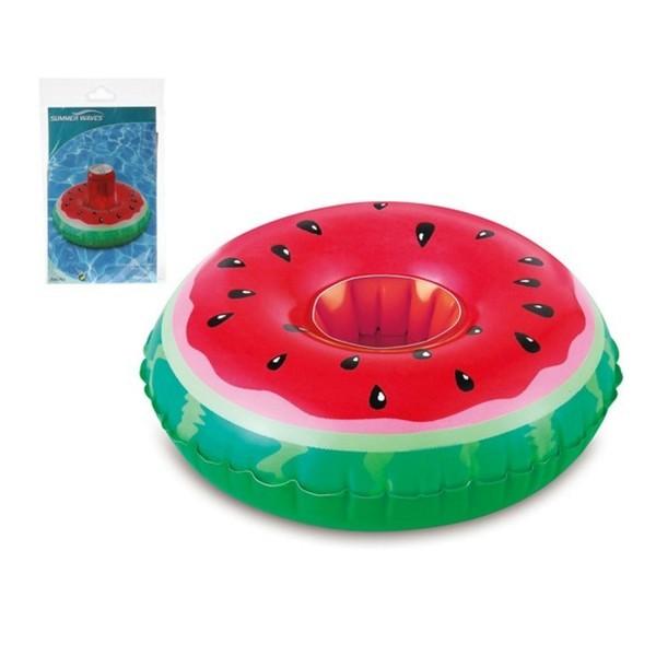 Aufblasbarer Dosenhalter Wassermelone