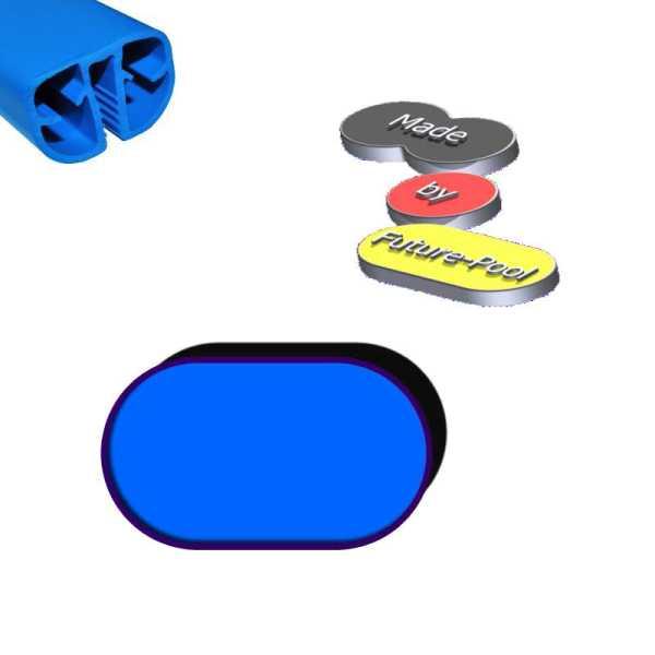 Handlaufprofil Standard für ovale Schwimmbecken