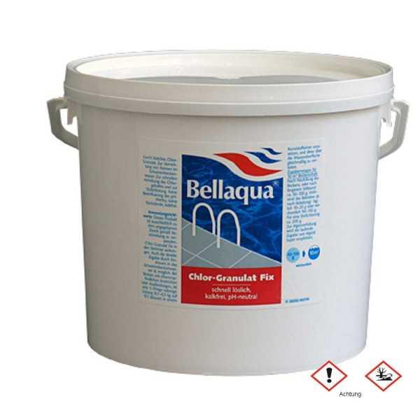 Bellaqua Chlorgranulat Fix zur schnellen Anhebung des Chlorgehaltes von Poolwasser