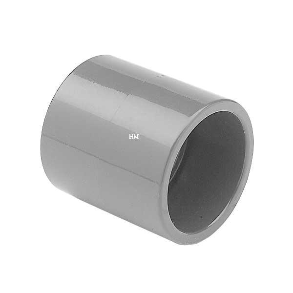 Verrohrung Teichbau Dichtung PVC Gewindekappe 1 1//2/'/' 10 Bar Poolbau grau