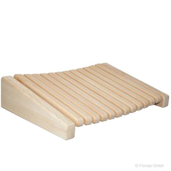 Sauna Kopfstütze aus Abachi Holz