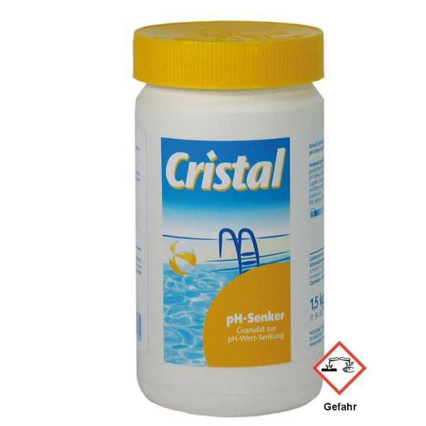 Cristal PH Wert Senker 1,5 kg