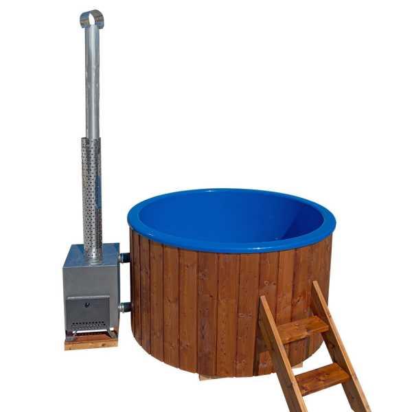 Badezuber mit Einsatz aus Sanitäracryl Rund Durchmesser 1,8 m