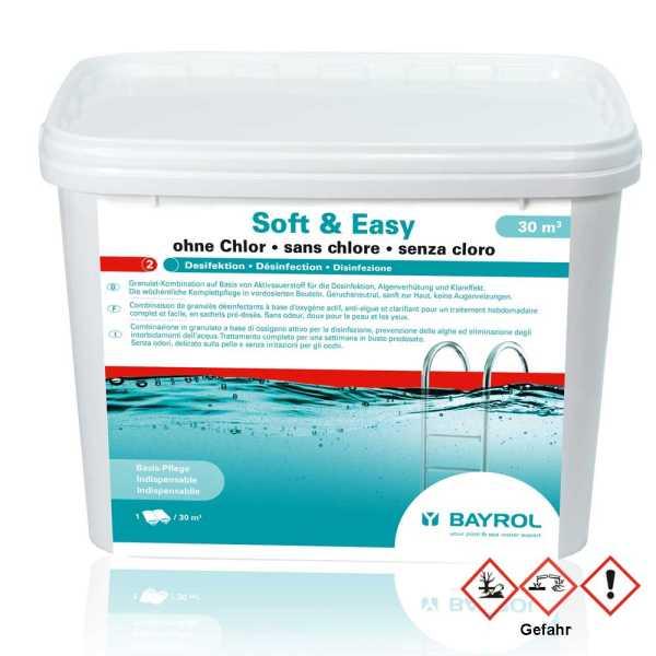Bayrol Soft & easy Poolpflege für Schwimmbecken ab 30 ³